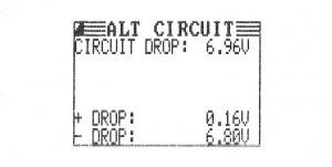 Voltage Drop Test