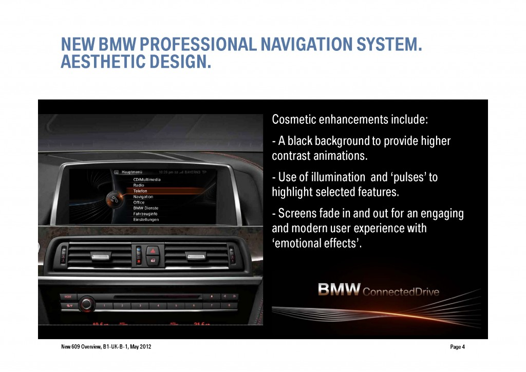 BMW Navigation Systems Overview, Page 4