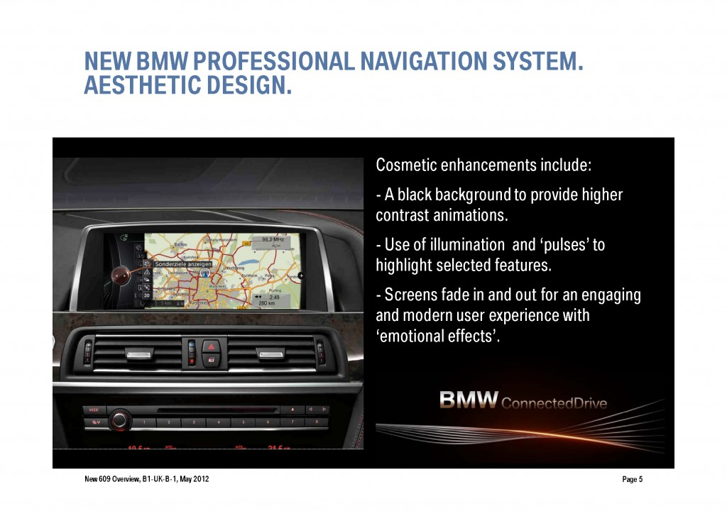 BMW Navigation Systems Overview, Page 5