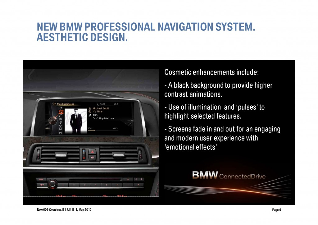 BMW Navigation Systems Overview, Page 6