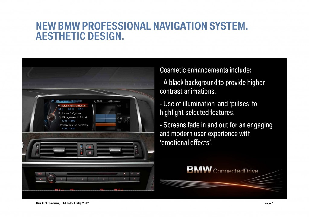 BMW Navigation Systems Overview, Page 7