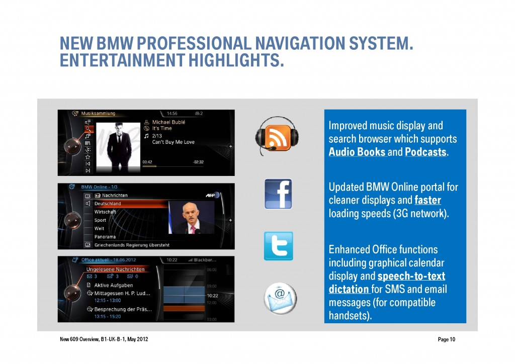 BMW Navigation Systems Overview, Page 10